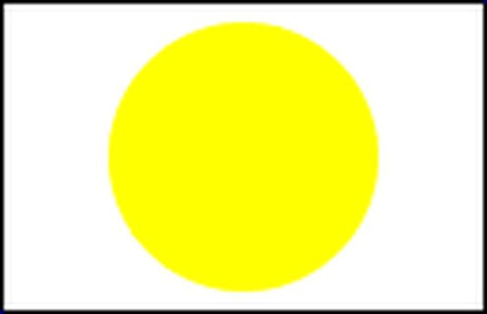 Markierungszeichen Gelber Punkt