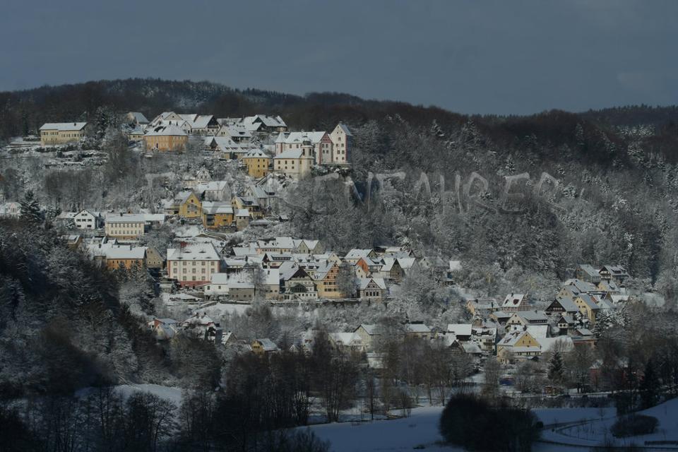Egloffstein im Winter