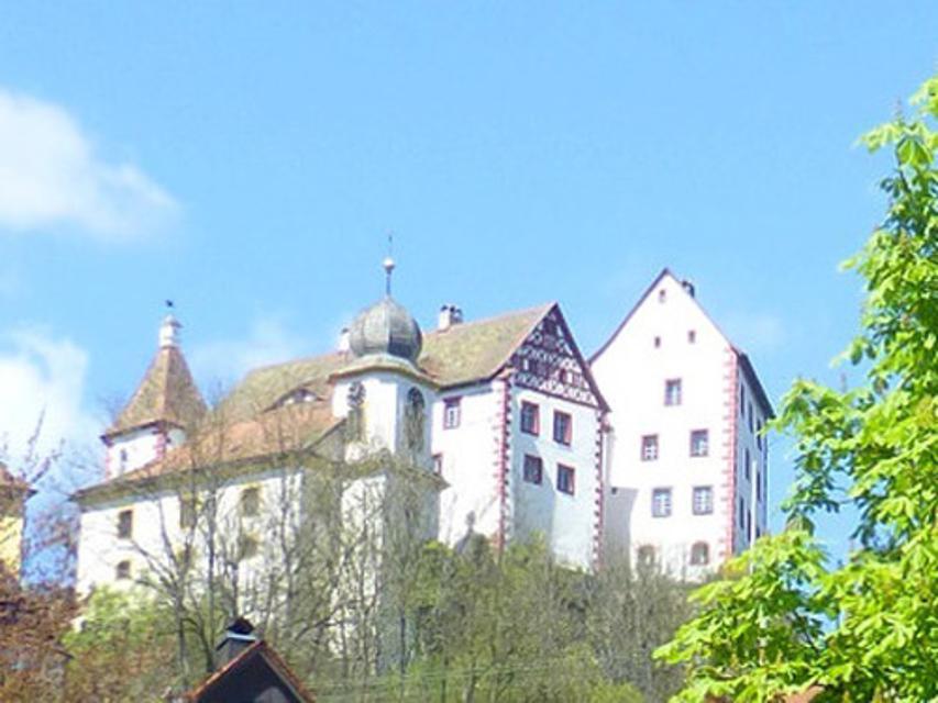 Blick auf Burg Egloffstein