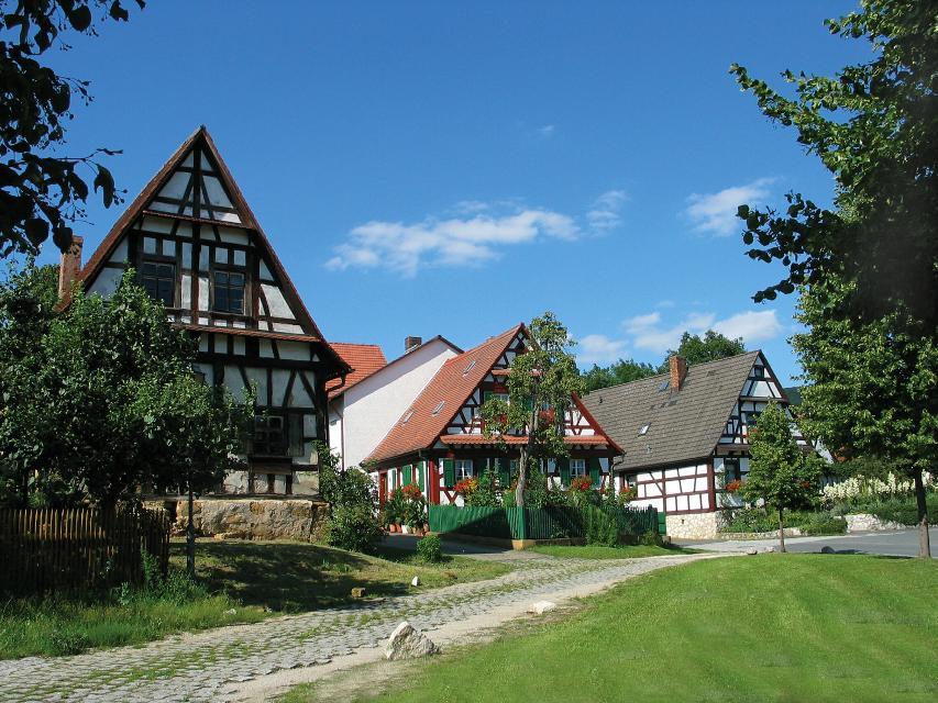 Fachwerkhäuser in Mistendorf