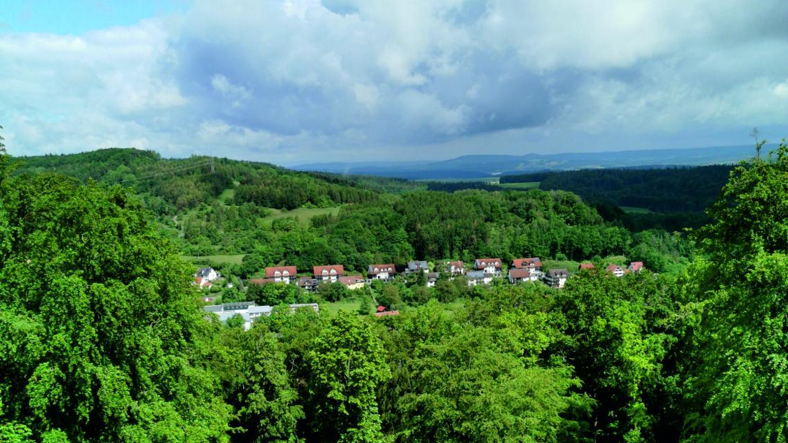 Aussicht vom Turmberg
