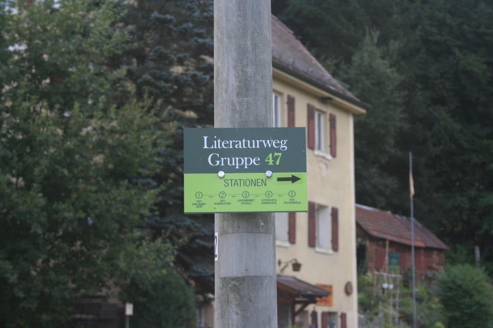 Literaturweg Gruppe 47