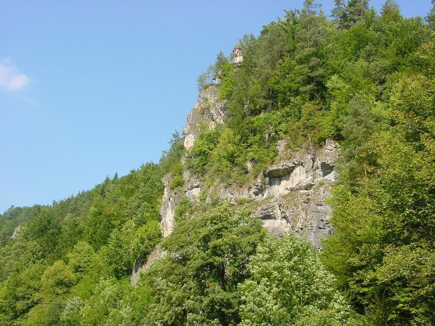 Felsen an der Sachsenmühle