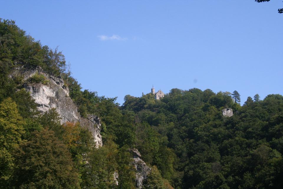 Wiesentfelsen und Burg Gößweinstein