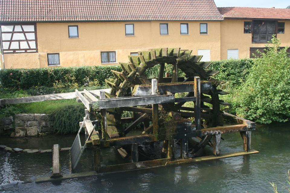 Wasserrad Ebermannstadt