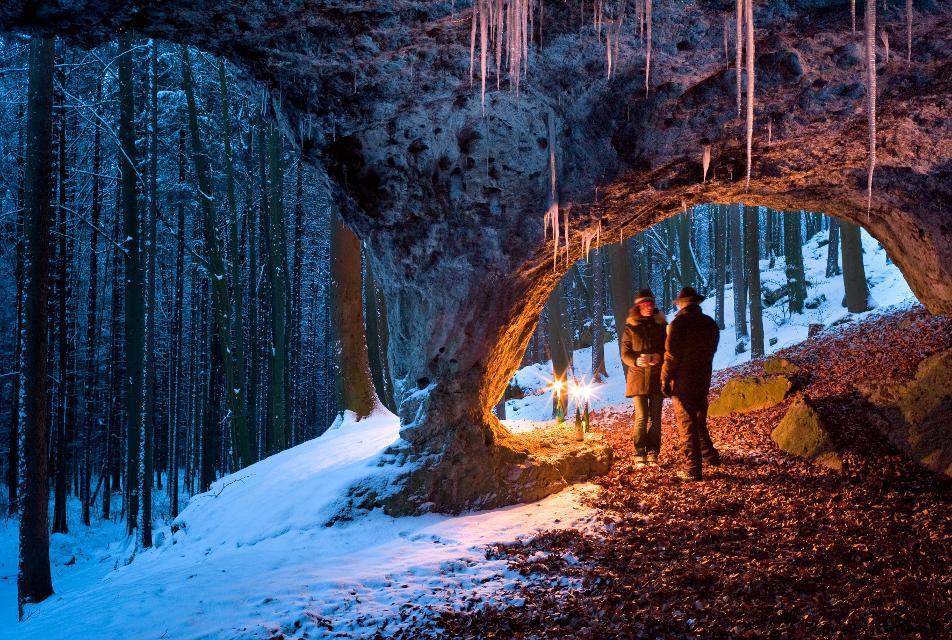 Winterwanderung Geiskirche