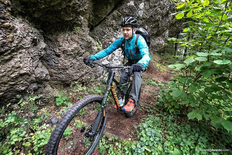 Mountainbiken in der Fränkischen Schweiz