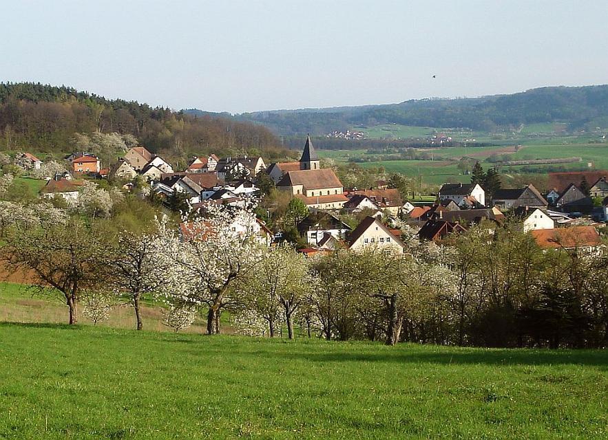Blick auf Schlaifhausen