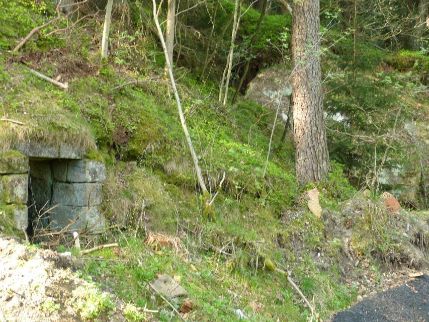 Eingang alter Felsenkeller