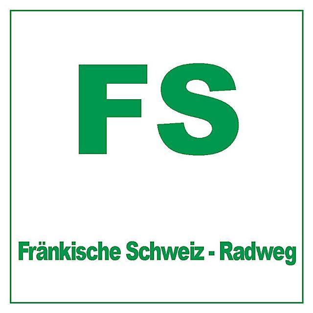 Markierungszeichen Fränkische Schweiz-Radweg