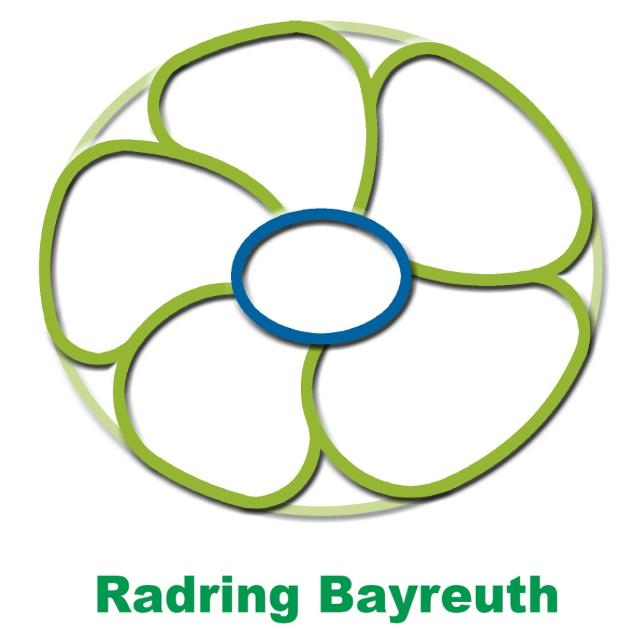 Markierungszeichen Radring Bayreuth