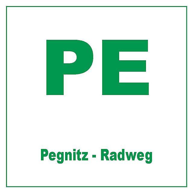 Markierungszeichen Pegnitz-Radweg