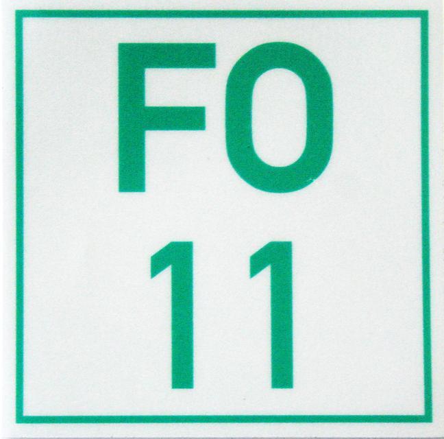 Markierungszeichen FO 11