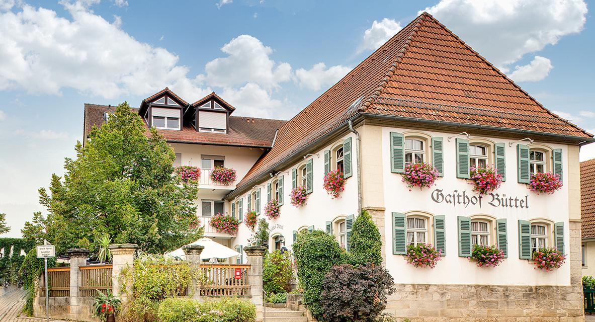 Landgasthof Büttel Geisfeld Außenansicht