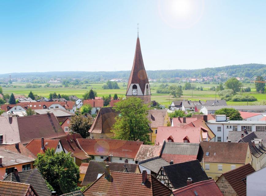 Blick auf Baiersdorf