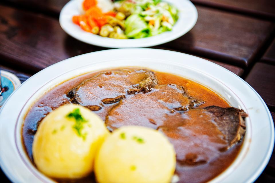 Fränkische Küche auf dem Teller, Fleisch