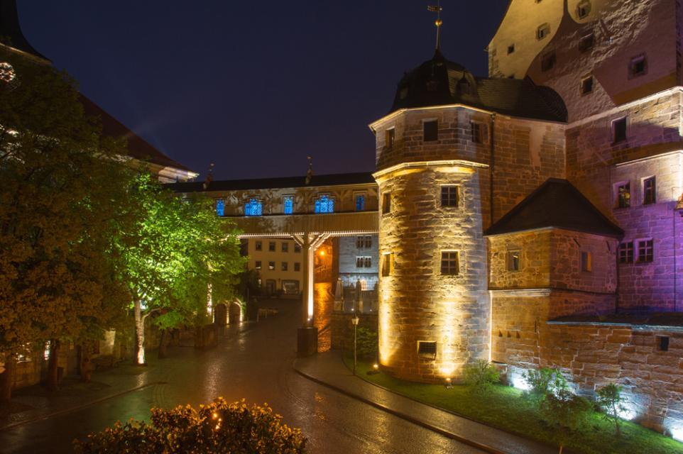 Nachtansicht von Thurnau