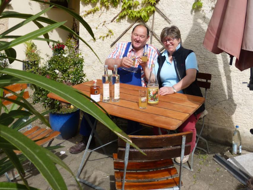 Willibald und Irmgard Schmidt vom Biohof Schmidt in Mittelehrenbach