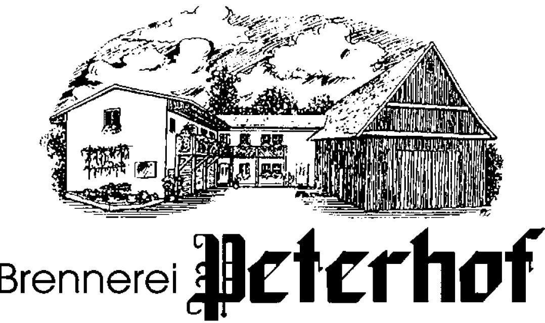 "Brennerei ""Peterhof"" in Ortspitz"