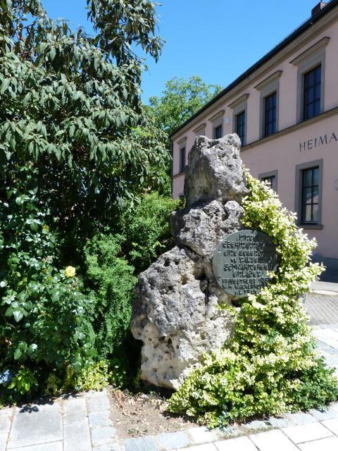 Gedenkstein zur Pfingstreise von 1793