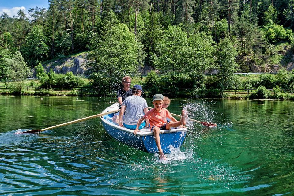 Bootsverleih am Schöngrundsee