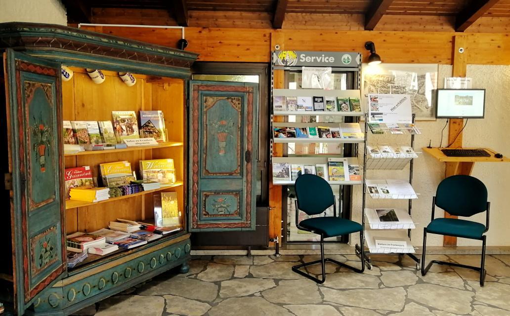 Naturpark-Geschäftsstelle im Rathaus