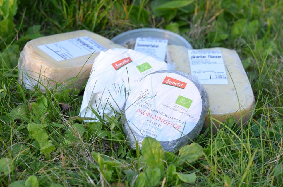 Käse vom Münzinghof