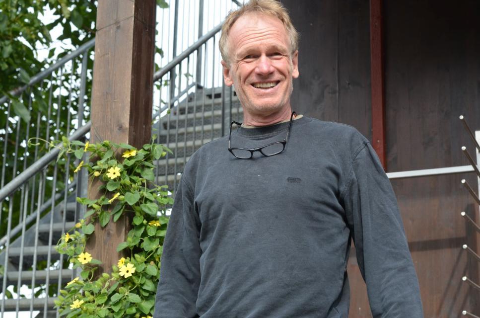 Michael Fick auf dem Münzinghof