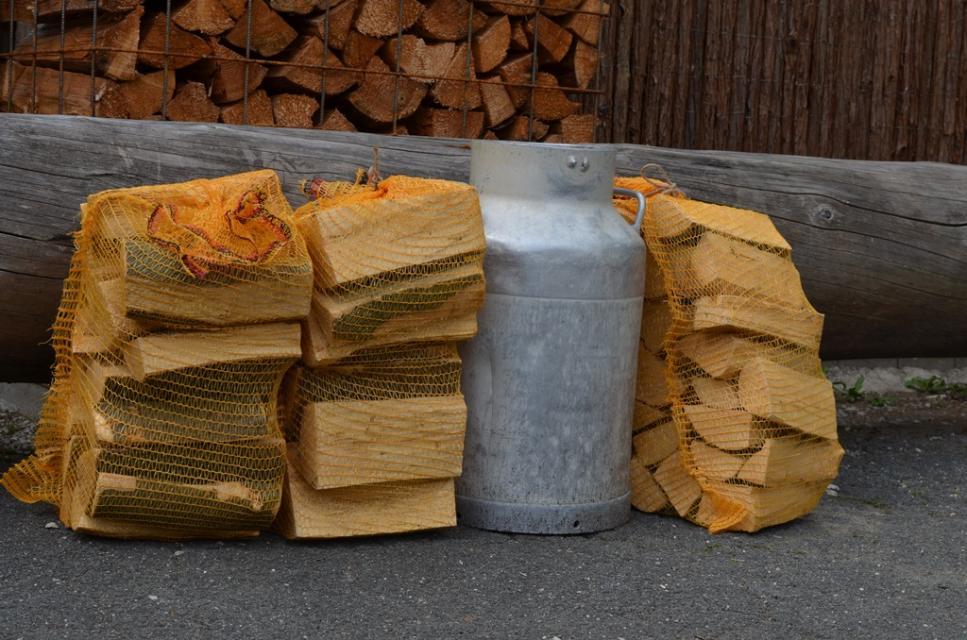 Holz aus dem Naturpark zum Mitnehmen
