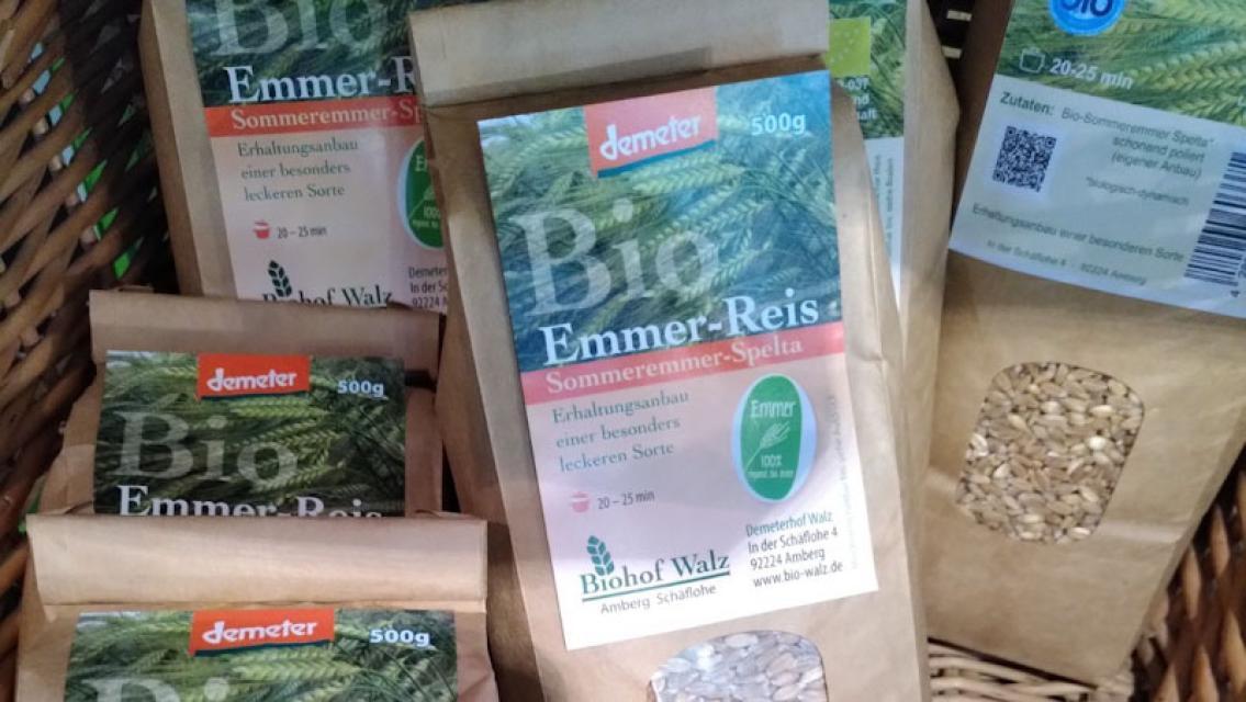 Alte Getreidesorten, die fast vergessen waren, hat Andreas Walz wieder angebaut