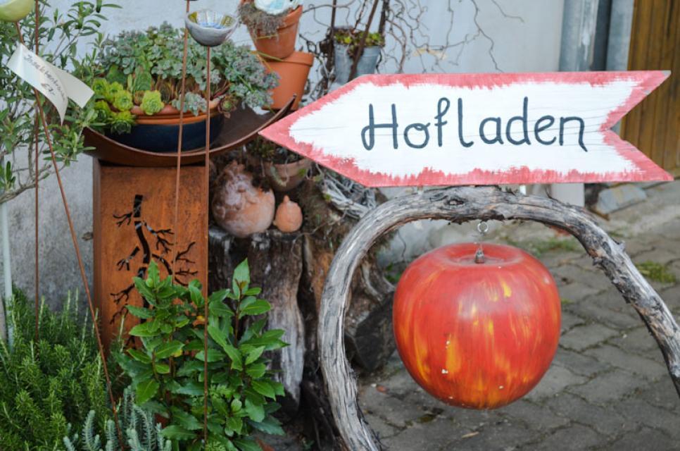 Der Hofladen in Ermreus hat freitags und samstags geöffnet