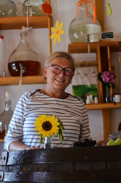 Hilde Wöhrmann ist die gute Seele des Hofladens