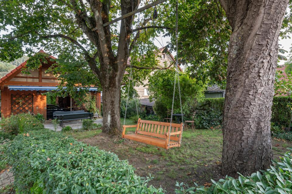 Ferienzimmer Familie Feulner Garten