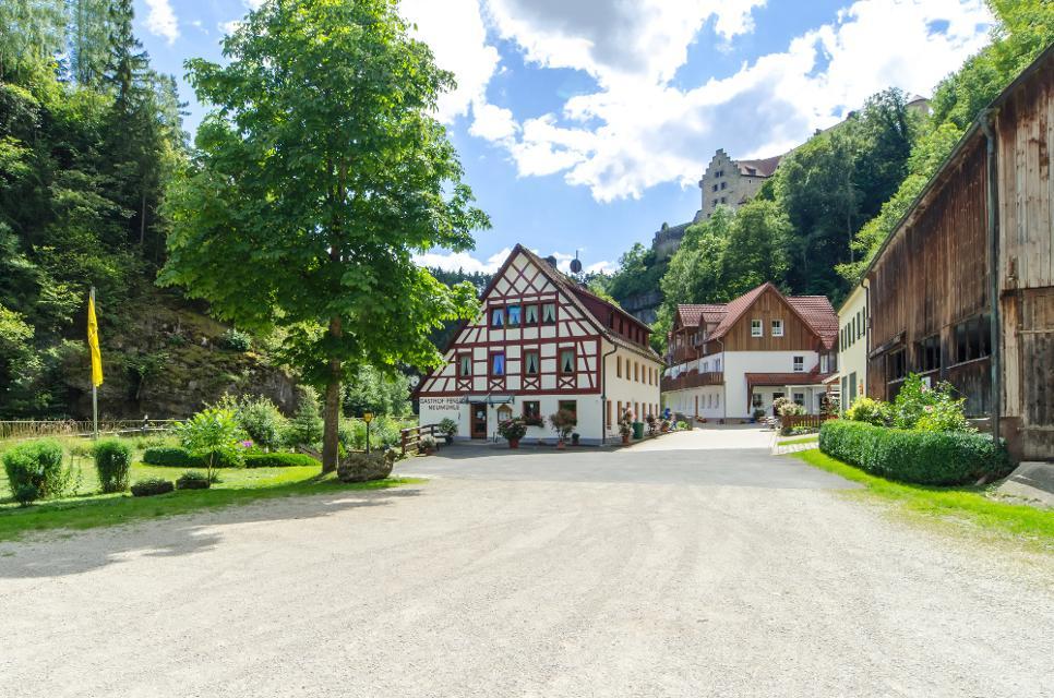 Fotosession Gasthof Pension Neumühle im Ahorntal in der Fränkischen Schweiz.