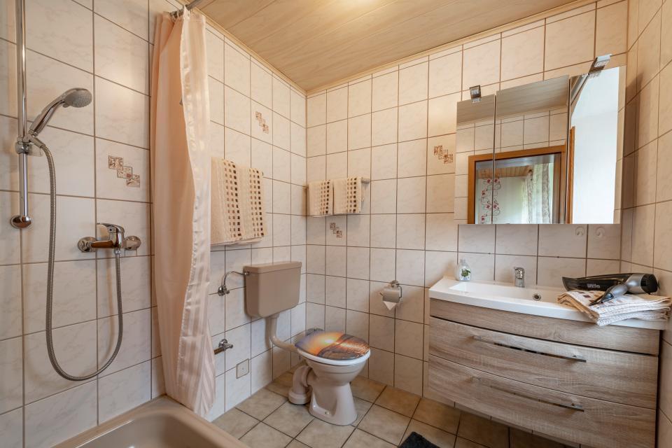 Schlafzimmer Ferienwohnung Freienfels
