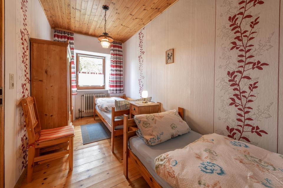 Schlafzimmer 2 Ferienwohnung Freienfels