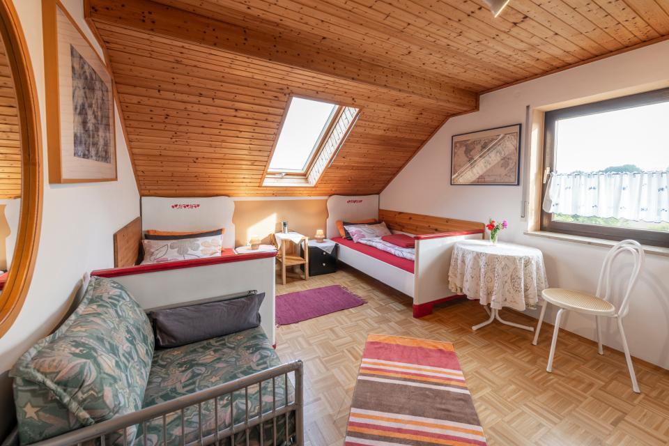 Ferienwohnung beim Josef Schlafzimmer 2