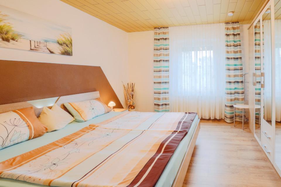 Ferienwohnung Familie Giehl Schlafzimmer