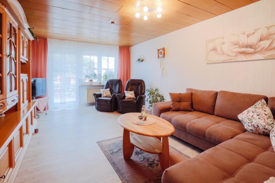 Ferienwohnung Familie Giehl Wohnzimmer