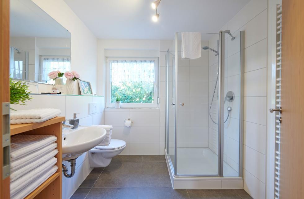 Fewo Obstgarten - Badezimmer