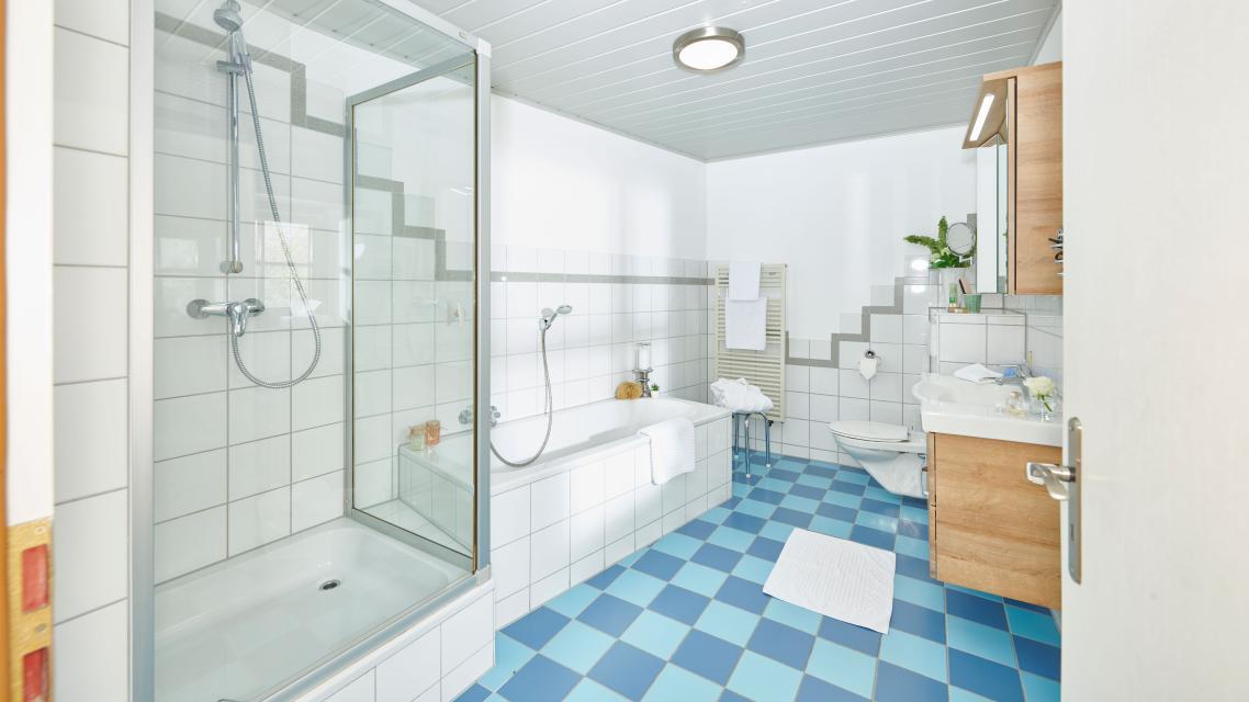 Fewo Schloßblick - Badezimmer