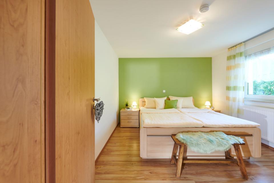 Fewo Obstgarten - Schlafzimmer