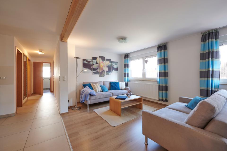 Fewo Obstgarten - Wohnzimmer