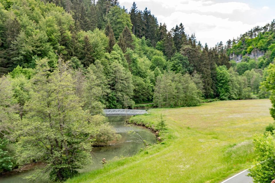 Aussicht Haus Wiesenttal