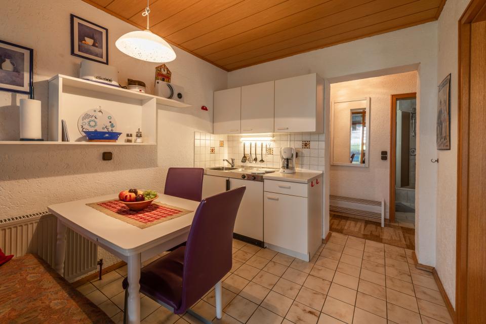 Ferienwohnung 1 Küchenzeile