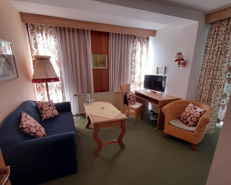 Komfortdoppelzimmer für Familien - mit Schlafcouch