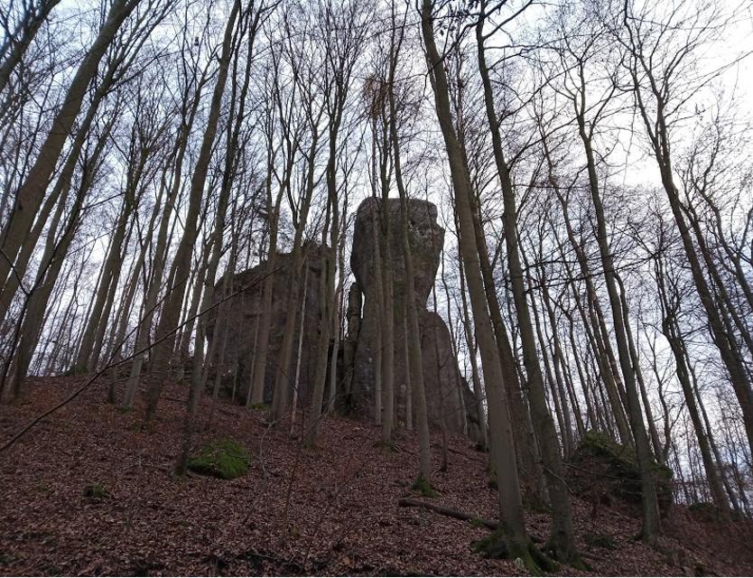 Zum Rothensteinfelsen