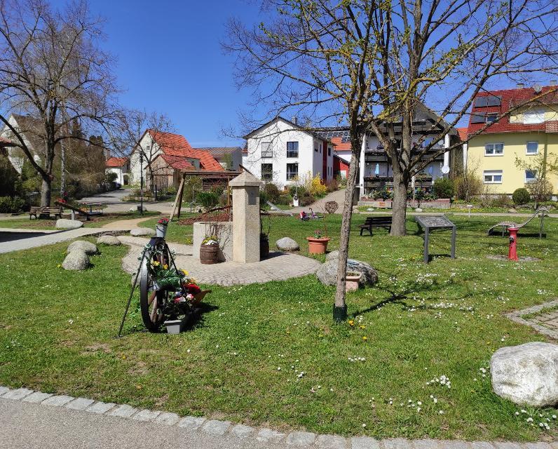 Herzplatz in Meedensdorf
