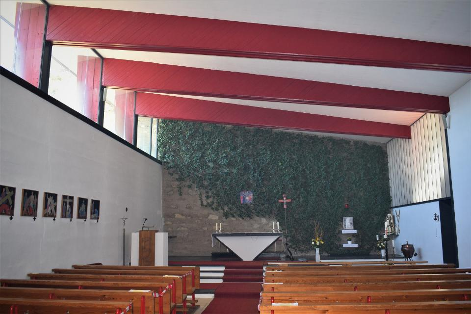 Kirche St. Sebastian Bernheck innen