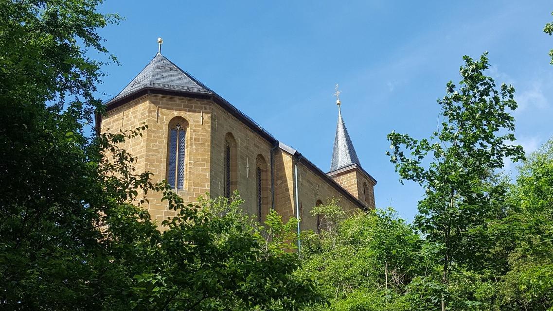Gügel Wallfahrtskirche bei Scheßlitz.